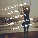 Social Media Cover Design Service for all social sites