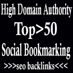 Top Most 50 High PR Social Bookmarking Skyrocket Seo Backlinks