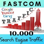 Get 10.000 Visitors From Search Engines Google,  Yahoo,  Bing etc