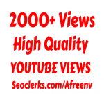 i will add 2000+ High Quality Youtube Vie ws Super Fast