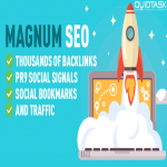 Magnum SEO - 10,000 Backlinks - 1500 Signals - Video Creation - UNLIMITED Traffic - Bookmarks with 50 SHOUTOUTS TO 1 MILLION people on Social Media included - Video Submission - 26,298+ ORDERS