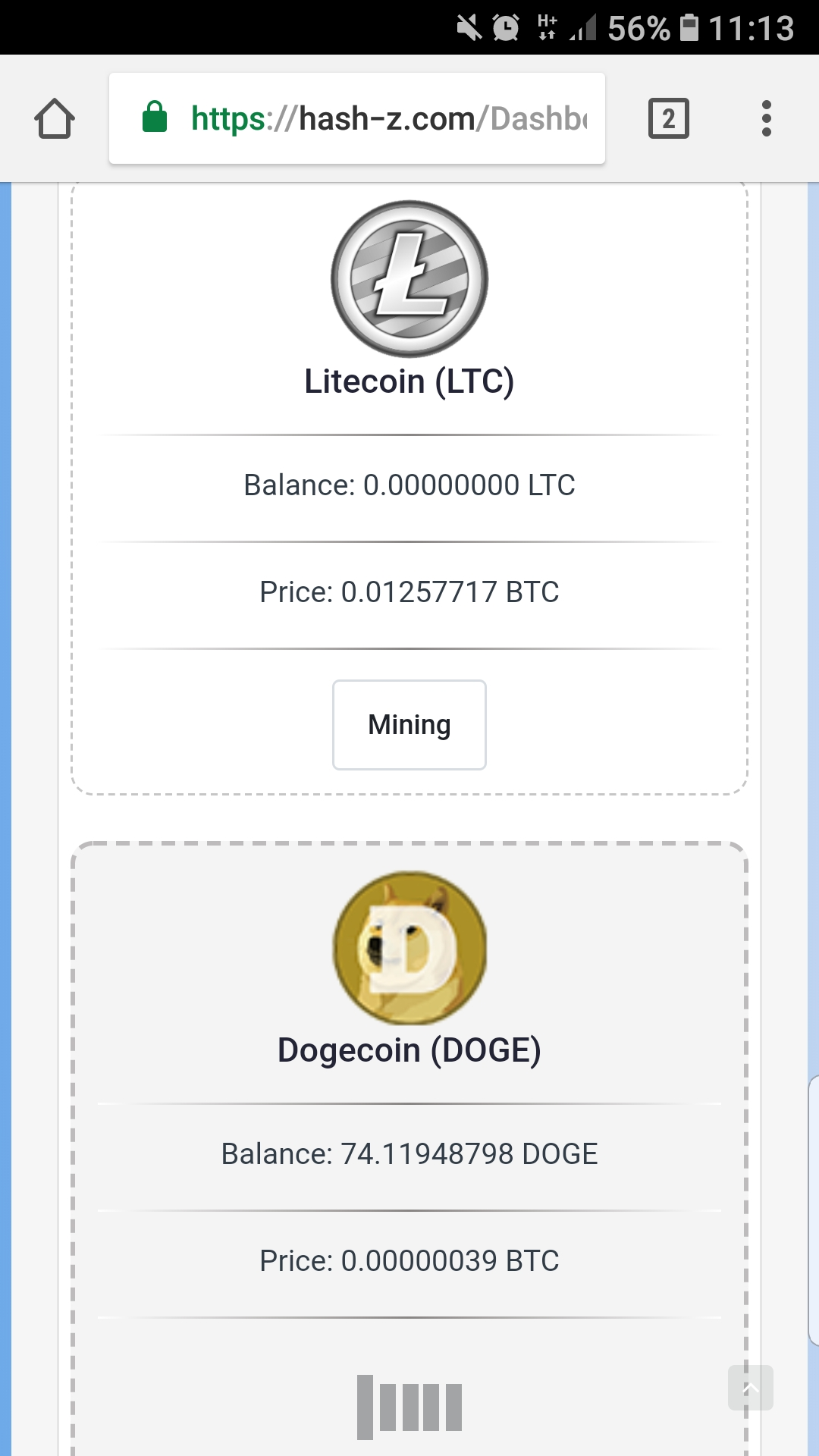 Mining website for dog eth btc ltc bcc